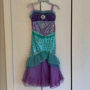 Licensed Disney Mermaid Ariel Costume Deluxe(NWOT)